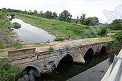 Входът към Видин (мостът Чобан Кюприя)